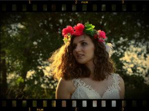 pana młoda, suknia ślubna, filmowanie wesel, kamerzysta