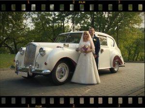 Para Młoda, auto ślubne
