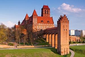Zamek Kwidzyń sesja ślubna